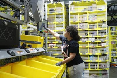 Amazon's profit falls as fast shipping costs increase