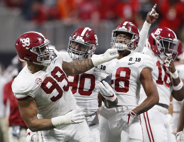 College Football Championship Alabama rallies for dramatic OT win