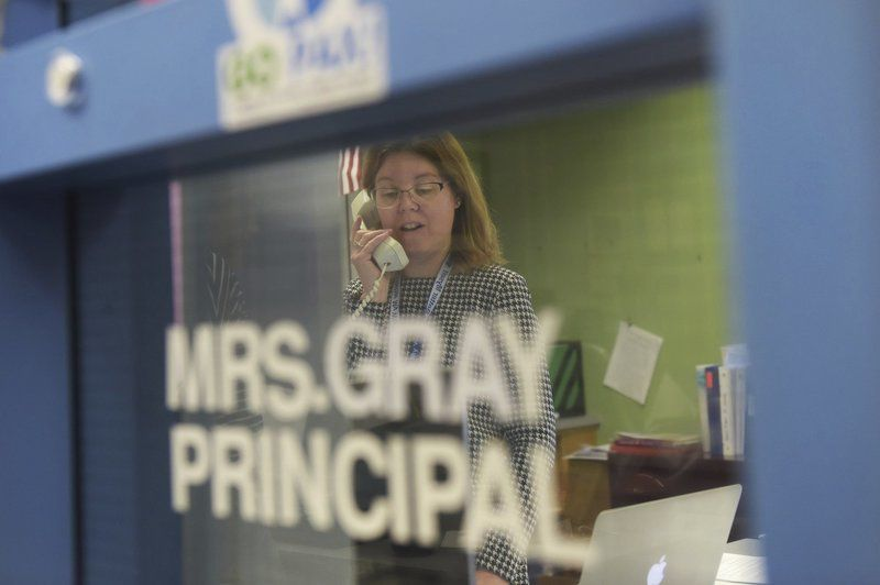 Principals engage students with support calls