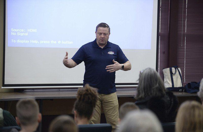 Josh Judge speaks at Plaistow Public Library   News