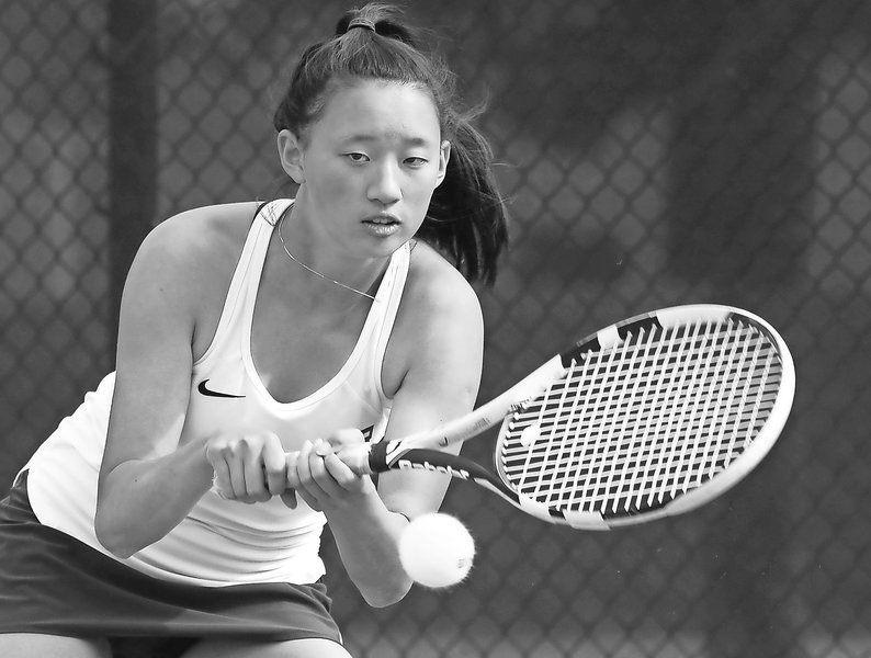 2019 Eagle-Tribune Girls Tennis All-Stars: Sophomore sensation Zhou breaks through for Andover
