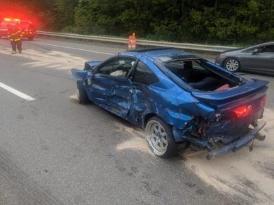 Lawrence man ejected from car after I-93 crash in Salem   Merrimack
