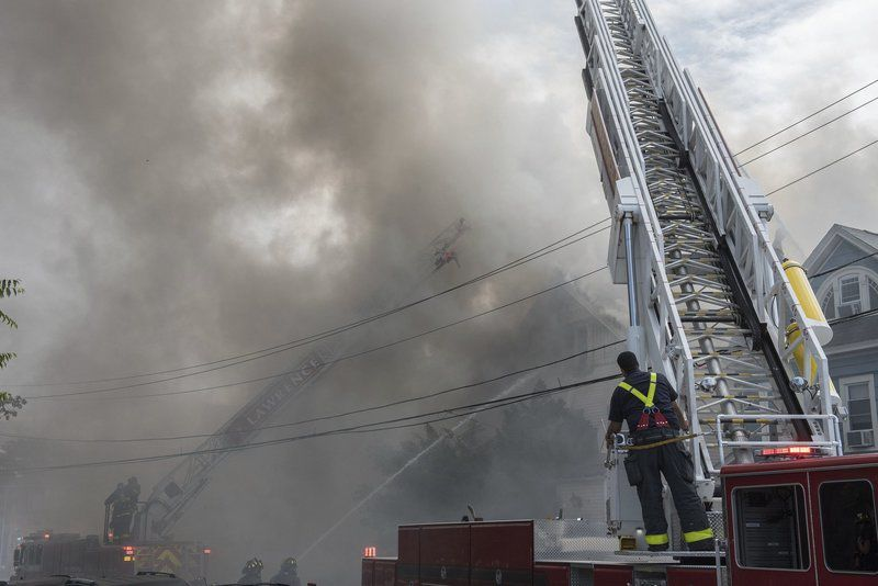 UPDATE: Fire destroys Lawrence home