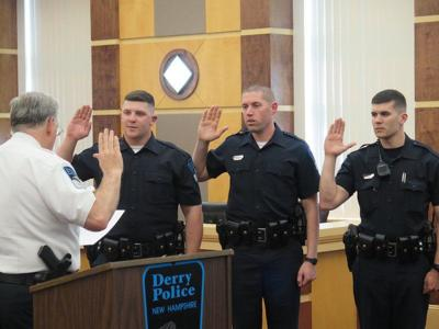 Derry police swear in three new officers | News