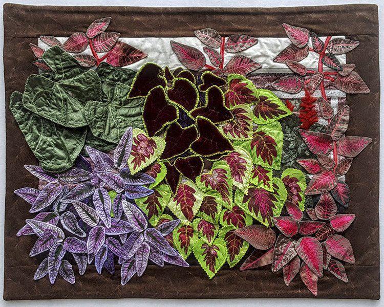 A feel-good exhibit; Fabric art grabs attention at Essex Art Center