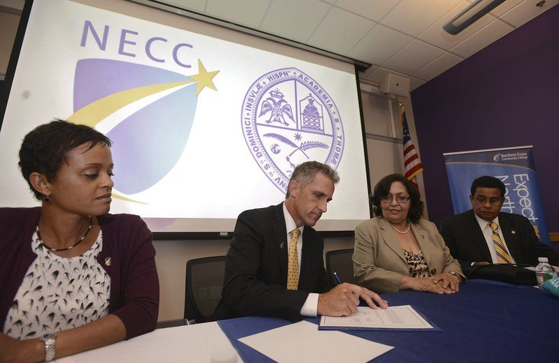NECC and Dominican university putting 'the pieces together'