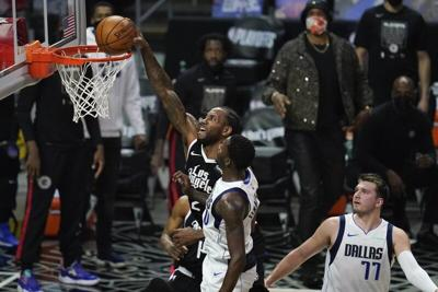 NBA PLAYOFFS Leonard stars, Clippers beat Mavs in Game 7