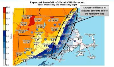 UPDATE: Snow forecast lowered for Merrimack Valley | News ...