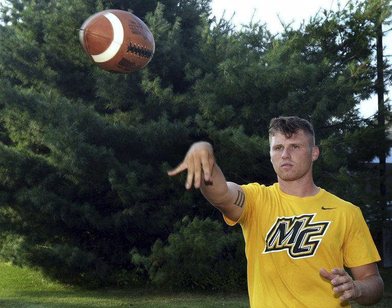 Former andover qb scarpa looks to close out career in style with former andover qb scarpa looks to close out career in style with merrimack college sciox Images