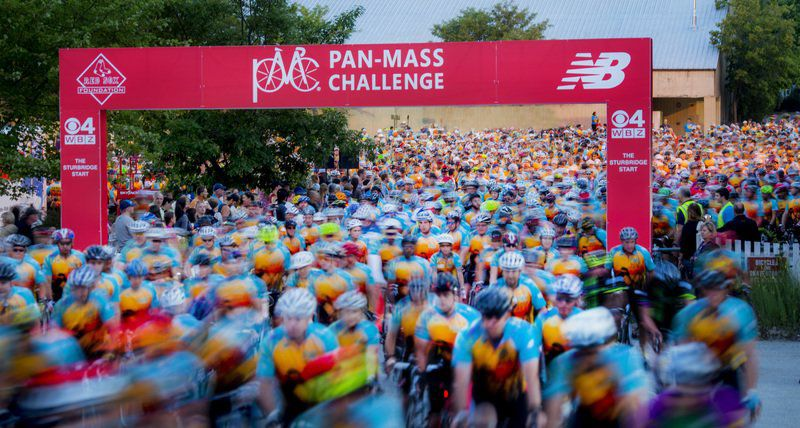 Pan-Mass Challenge cyclists ride to support Dana-Farber
