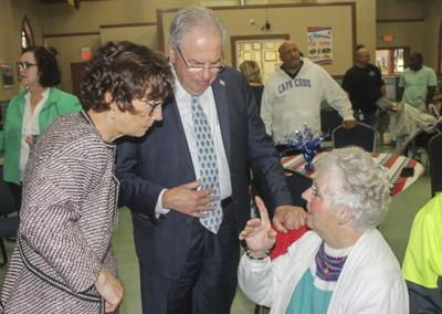 House speaker praises veterans center