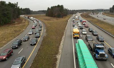 After morning rollover on I-93 south, all lanes open   News