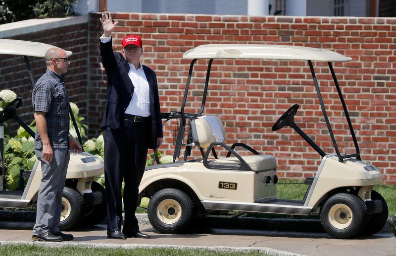Secret Service Spent $13500 On Golf Cart Rentals For Trump Trip