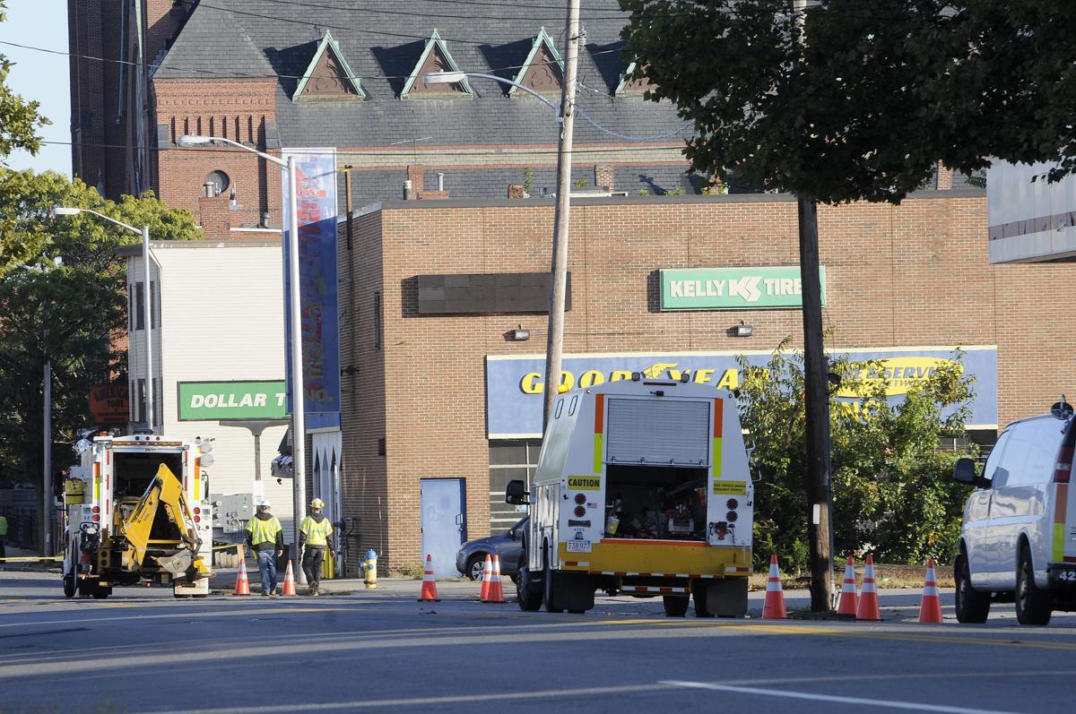 South Lawrence gas leak
