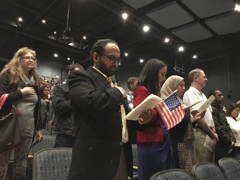 Windham High hosts naturalization ceremony | New Hampshire