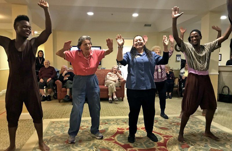 Methuen Village residents learn about Haitian culture