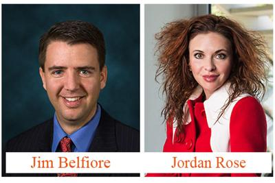 Jim Belfiore is president of Belfiore Real Estate Consulting. Jordan Rose is president of Rose Law Group.