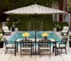 Elegant Furniture Moves To The Patio With Sturdy And