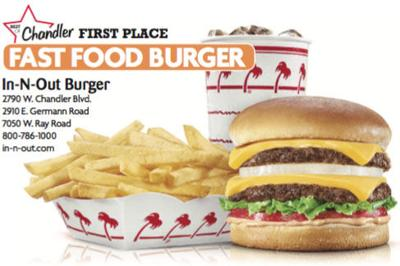 In-N-Out Burger  2790 W. Chandler Blvd.  800-786-1000