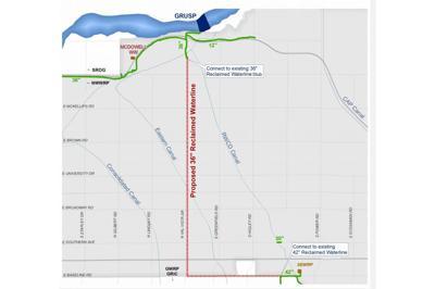 Mesa Water Pipeline