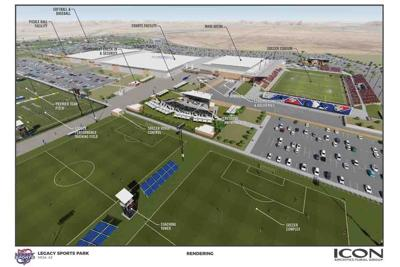 Legacy Sports Park in southeast Mesa