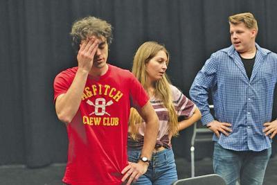"""Rehearsing for Neil Simon's """"Rumors"""" Chandler-Gilbert Community College"""
