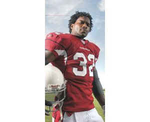 Edgerrin James lives in two different worlds. And he lives by his own set of rules.