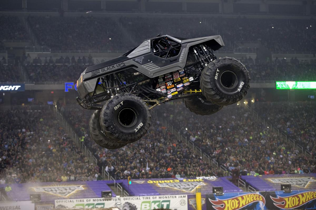 Rookie monster truck driver throws fear out the window | Get Out ...