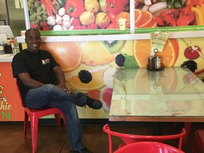 With Smoothie Run, Marcus Moody is happy to introduce his healthful food option to Gilbert.