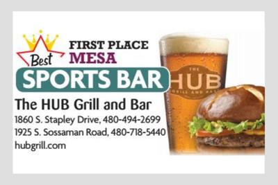 The HUB Grill and Bar 1860 S. Stapley Drive