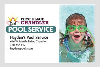 Hayden's Pool Service 646 W. Mertle Drive, Chandler