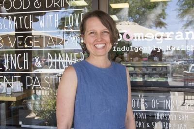 Cassie Tolman, co-owner of the Pomegranate Cafe in Ahwatukee along with her mother, have appealed to the public on social media for money to help them set up a second cafe in Central Phoenix.