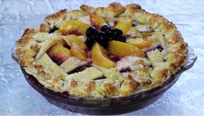 When mixed together and a la mode, a homemade Peach-A-Berry Pie is irresistible.