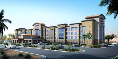 A Rendering Shows The Mesa Residence Inn Which Will Open In September 2018