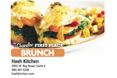 Hash Kitchen  2855 W. Ray Road, Suite 4 480-361-5228