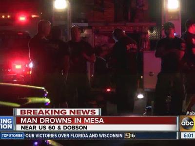 Man found at bottom of pool in Mesa apartment | Mesa