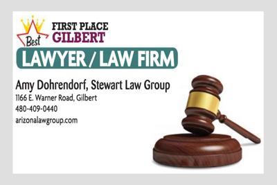 Amy Dohrendorf, Stewart Law Group 1166 E. Warner Road, Gilbert