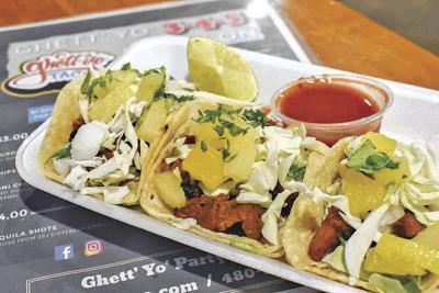 Cinco de Mayo Ghett'Yo Tacos