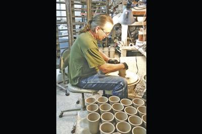 Mesa ceramic artist Bruce Larrabee