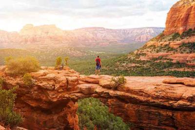Travel in Devil's Bridge Trail
