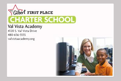 Val Vista Academy  4120 S. Val Vista Drive