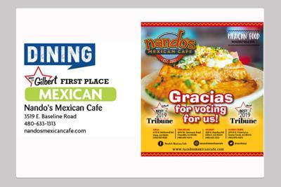 Nando's Mexican Cafe 3519 E. Baseline Road