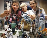 In McFarlane household, action figures are the family business