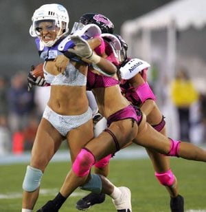 8ae2976bb Lingerie Bowl  to coincide with Super Bowl week