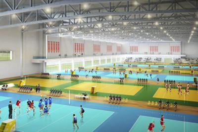 The proposed Mesa Plays sports complex