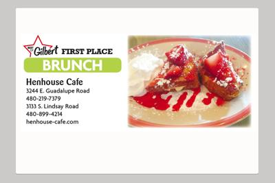Henhouse Cafe 3244 E. Guadalupe Road 3133 S. Lindsay Road