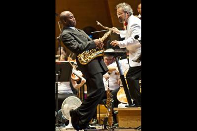 Jazz musician James Carter