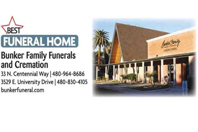 Bunker Family Funerals and Cremation