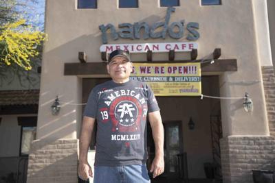 Fernando Rios, co-owner of Nando's Mexican Café