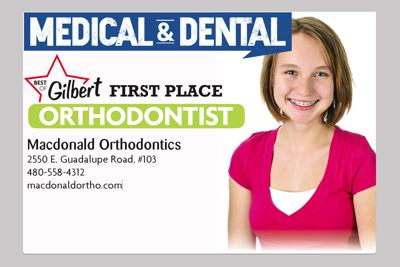 Macdonald Orthodontics 2550 E. Guadalupe Road, #103